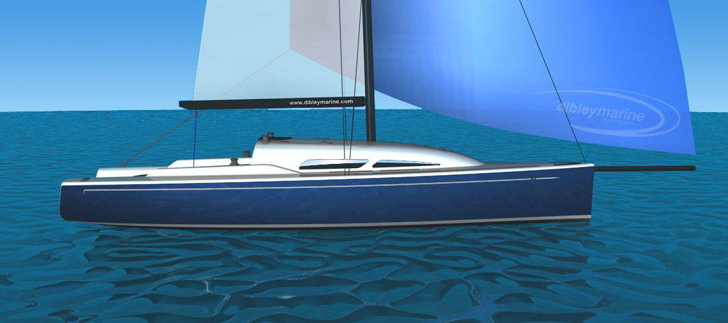 Dibley IRC 34 Racing Yacht Dibley Marine Press