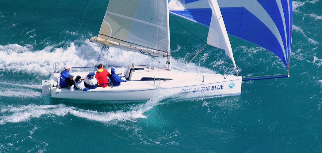 Race Yacht Out of the Blue by Dibley Marine