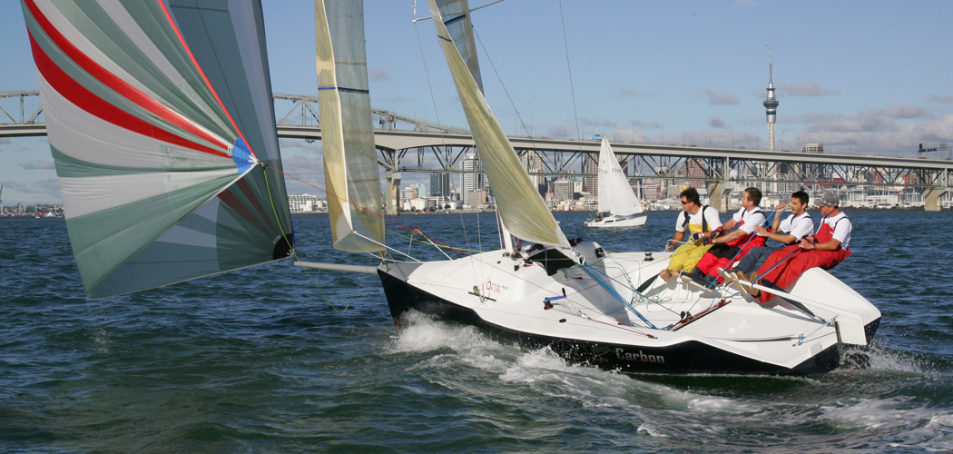 Carbon Trailer Sailer Race Yacht by Dibley Marine