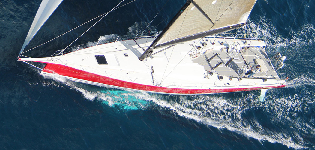 Pendragon Racing Yacht by Davidson and Dibley Marine